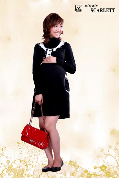 Đầm bầu Scarlett: Đầm bầu thời trang đậm chất cá tính - 6