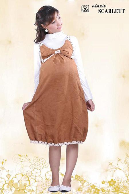 Đầm bầu Scarlett: Đầm bầu thời trang đậm chất cá tính - 13