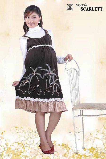 Đầm bầu Scarlett: Đầm bầu thời trang đậm chất cá tính - 12