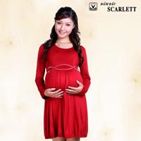 Đầm bầu Scarlett: Đầm bầu thời trang đậm chất cá tính
