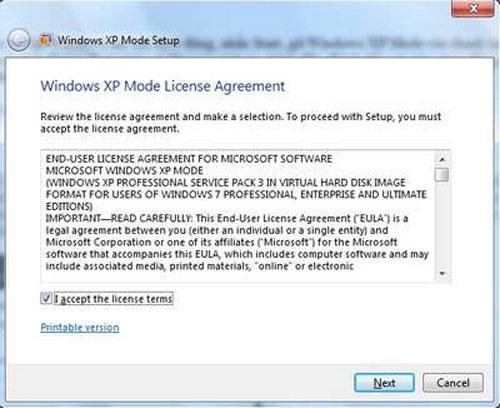Cách cài đặt và sử dụng XP Mode trên Windows 7 - 3
