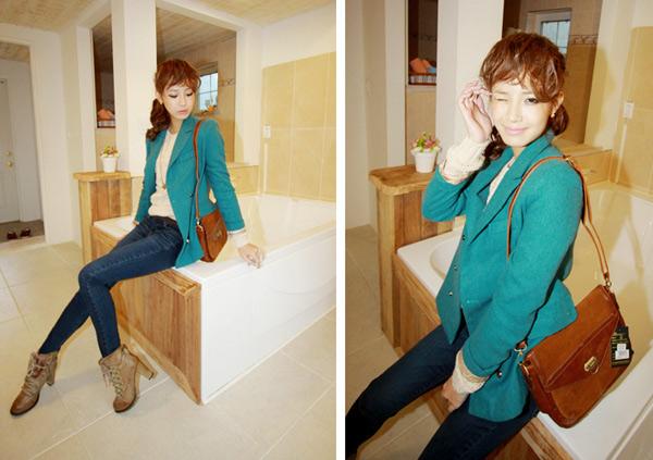Đẹp hoàn hảo cùng áo vest thụng - 11