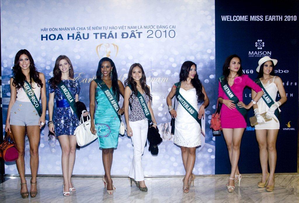 Công ty MaiSon hân hạnh đón chào các Hoa Hậu Trái Đất 2010 - 2