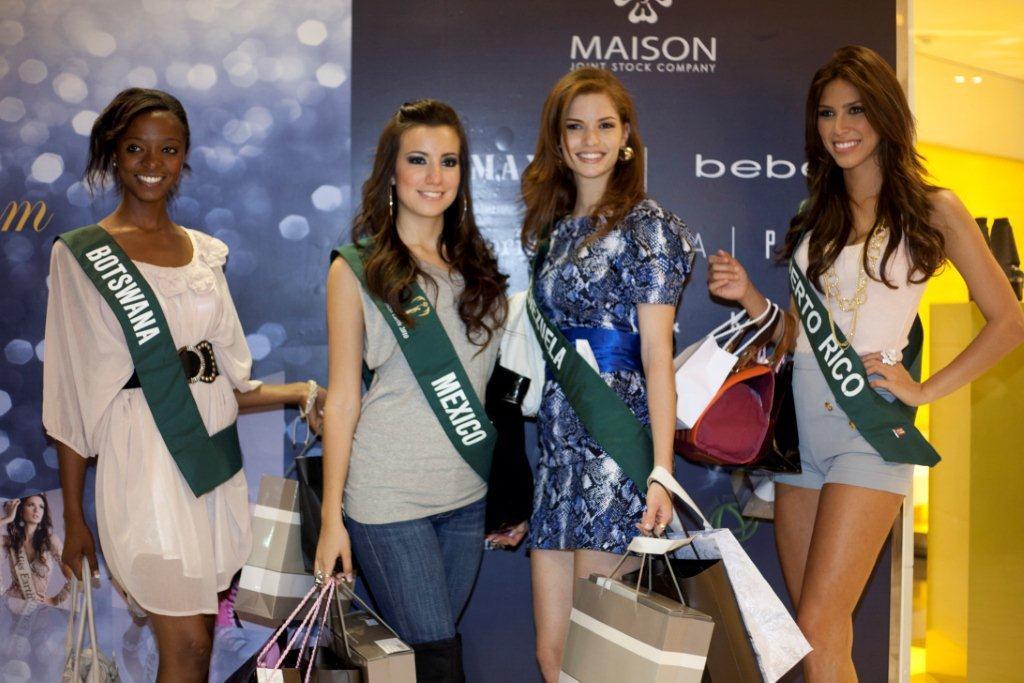 Công ty MaiSon hân hạnh đón chào các Hoa Hậu Trái Đất 2010 - 3