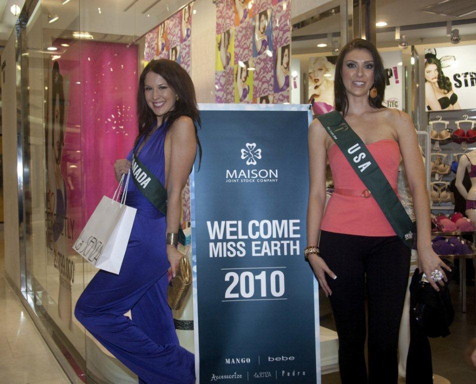 Công ty MaiSon hân hạnh đón chào các Hoa Hậu Trái Đất 2010 - 7