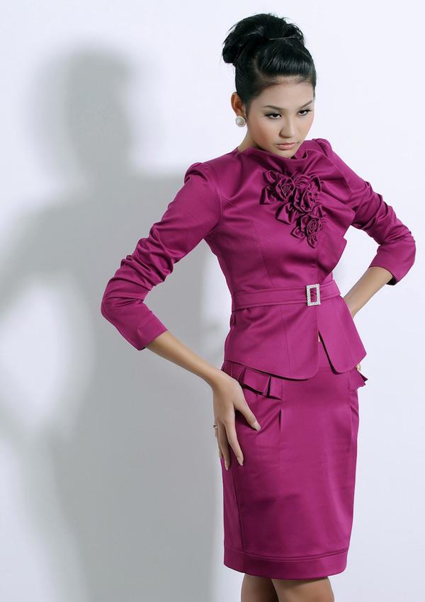 Tươi trẻ với vest điệu cho công sở Việt - 2