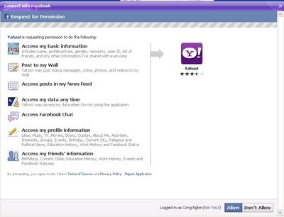 Trải nghiệm Yahoo! Messenger 11 Beta - 2
