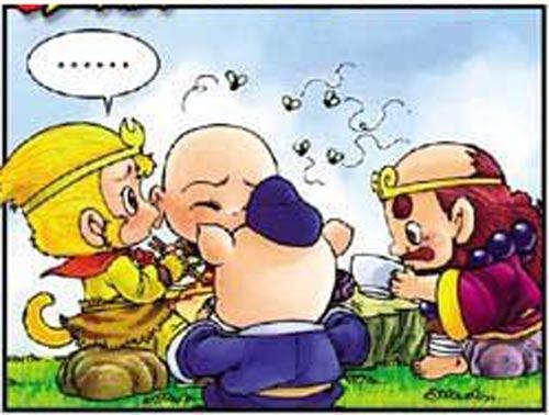 Tây Du Ký Hài (45): Sư phụ ngộ độc thức ăn - 1
