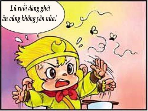 Tây Du Ký Hài (45): Sư phụ ngộ độc thức ăn - 2