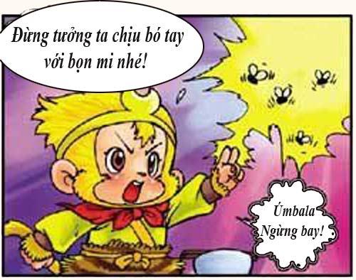 Tây Du Ký Hài (45): Sư phụ ngộ độc thức ăn - 3