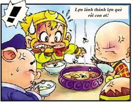 Tây Du Ký Hài (45): Sư phụ ngộ độc thức ăn - 4