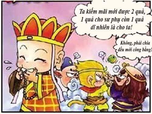 Tây Du Ký Hài (45): Sư phụ ngộ độc thức ăn - 5