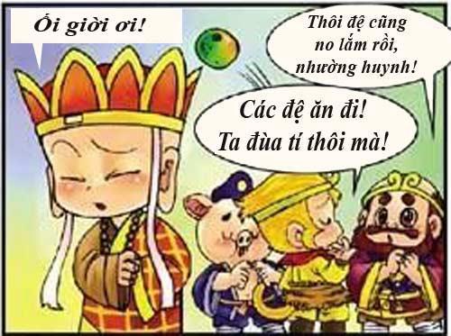 Tây Du Ký Hài (45): Sư phụ ngộ độc thức ăn - 7