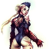 Võ sĩ Street Fighter bị virus zombie tấn công