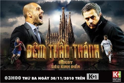 """""""Siêu kinh điển"""" Barcelona - Real Madrid, trực tiếp trên K+1 - 1"""