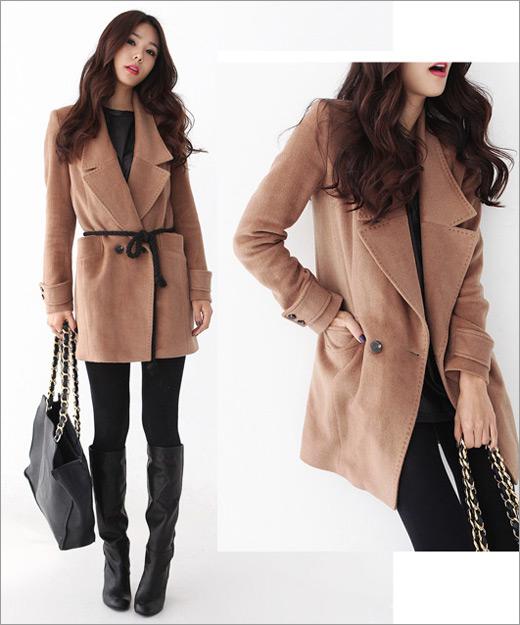 Tư vấn: Chọn áo khoác dạ cho người thấp