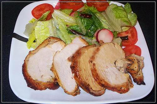 Thơm lừng gà nướng bơ chanh - 4