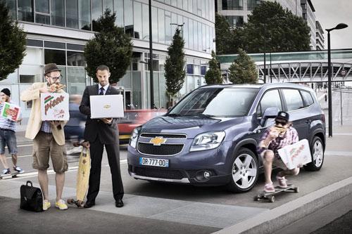 Công bố giá Chevrolet Orlando 2011 - 1