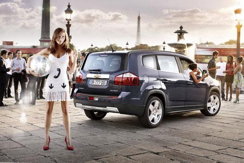 Công bố giá Chevrolet Orlando 2011 - 3