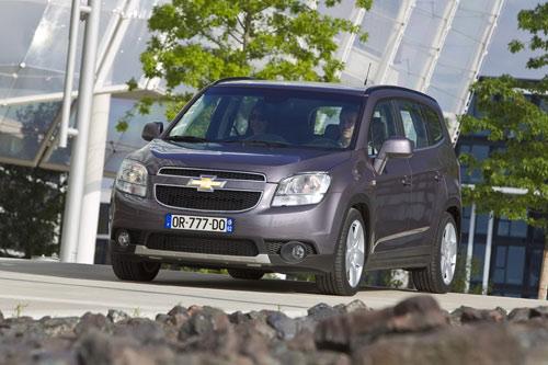 Công bố giá Chevrolet Orlando 2011 - 5