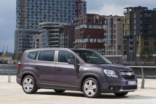 Công bố giá Chevrolet Orlando 2011 - 6