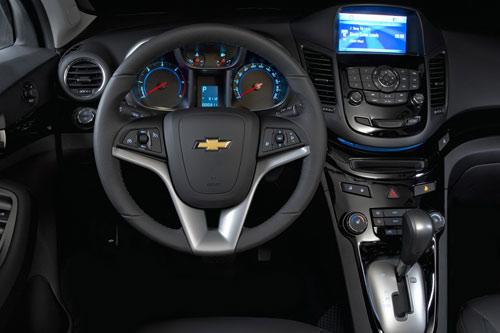 Công bố giá Chevrolet Orlando 2011 - 12