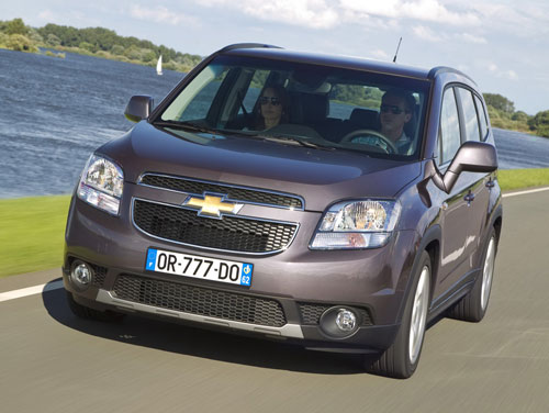 Công bố giá Chevrolet Orlando 2011 - 9