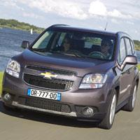 Công bố giá Chevrolet Orlando 2011