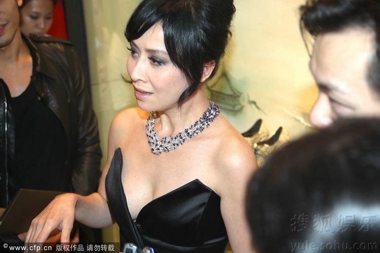 Lưu Gia Linh bị chê khoe ngực phản cảm - 4