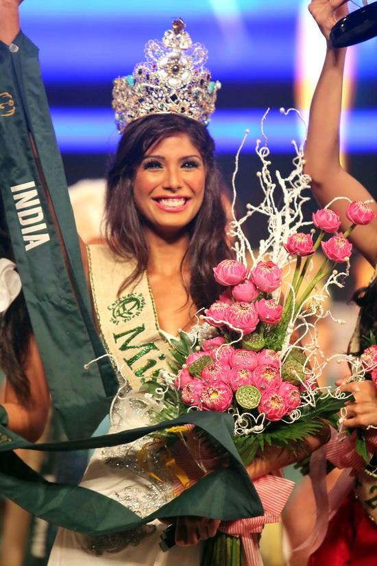 Hoa hậu Ấn Độ đăng quang đầy thuyết phục! - 1