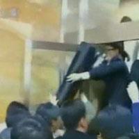 Video: Các ông nghị Hàn đánh nhau