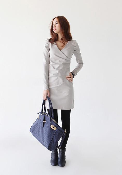 Tư vấn: Chọn váy liền công sở cho mùa đông lạnh - 13