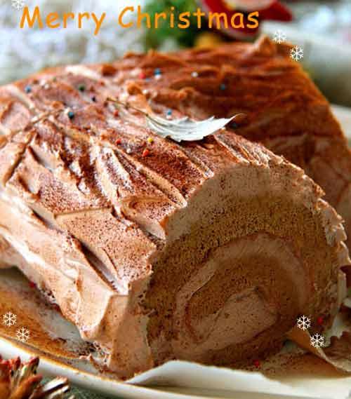Tự làm bánh khúc cây đón Giáng sinh - 7