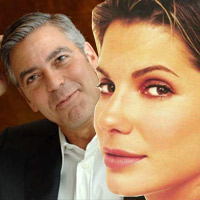 Sandra Bullock s cp k George Clooney