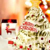 Trang trí bánh kem cho Noel lung linh