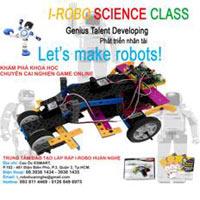 Học lắp ráp I-ROBO giúp trẻ cai nghiện Game Online