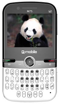 Q-mobile M75 – Cảm ứng 3G, vui không bến bờ - 1