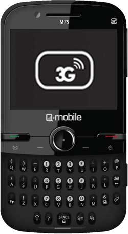 Q-mobile M75 – Cảm ứng 3G, vui không bến bờ - 2