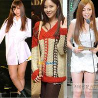 """Sao Hàn nở rộ trào lưu """"không mặc quần"""""""