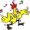 Video chuyện lạ: Gà quay nhảy dance sành điệu