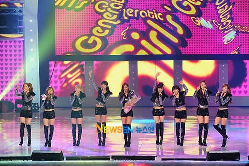 SNSD ấm ức tại lễ trao giải J-Pop - 1