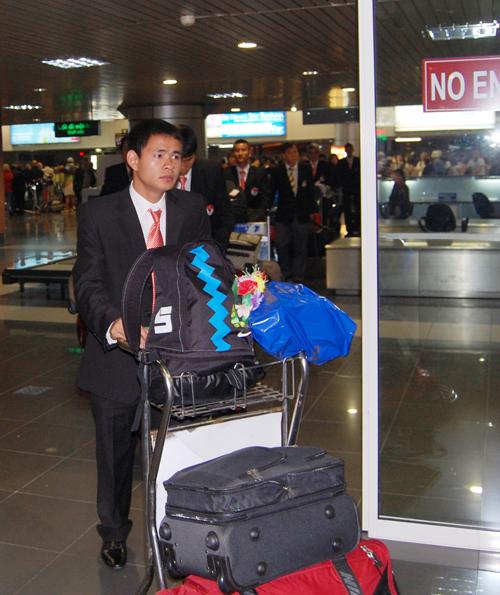 ĐT Việt Nam đã đến Nhật Bản - 1