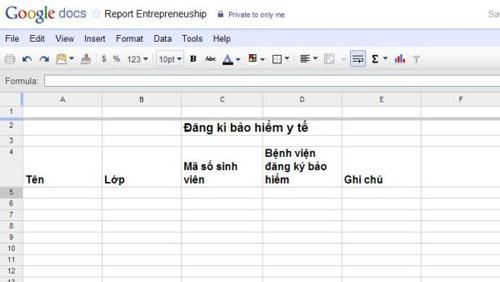 Làm việc theo nhóm cực hiệu quả với Google Docs - 12