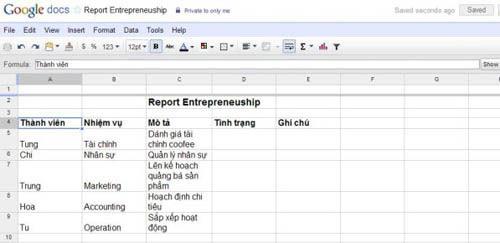 Làm việc theo nhóm cực hiệu quả với Google Docs - 6
