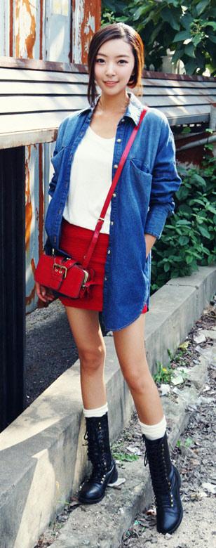 Mặc áo khoác jean đẹp và đúng mốt - 2