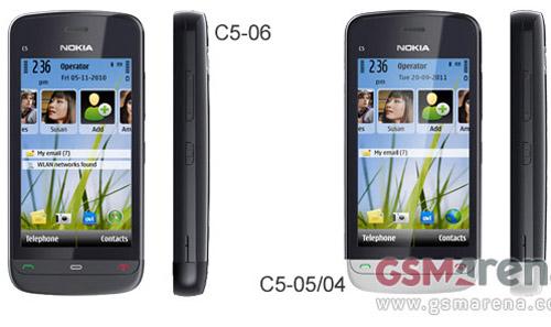 Nokia C5-06 và C5-05 giá mềm xuất hiện - 1