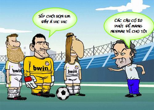 Siêu phẩm video 21: Mourinho thèm Neymar - 1
