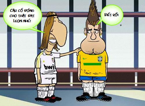 Siêu phẩm video 21: Mourinho thèm Neymar - 2