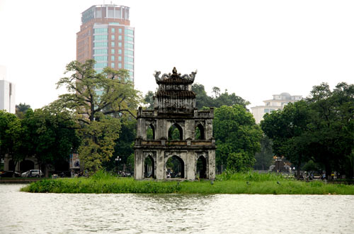 Chuyện ít biết về Tháp Rùa Hồ Gươm - 1
