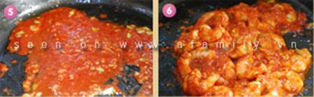 Cơm tối ngon với tôm sốt cà chua - 3